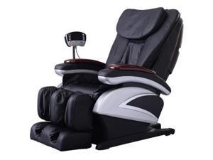 BestMassage BM-EC06C Electric Full Body Shiatsu Massage Chair Recliner with Stretched Foot Rest - Black