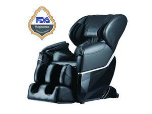 BestMassage EC77 Electric Full Body Shiatsu Massage Chair Recliner Zero Gravity w/Heat - Black