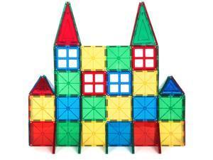 Best Choice Products 60Pc Kids Magnetic Building Block Tiles Deals