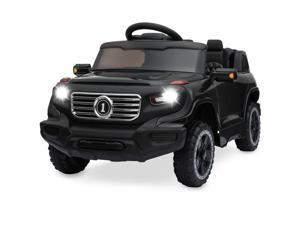 Best Choice Products 6V Kids Ride On Car Truck w/ Parent Control, 3 Speeds, LED Headlights, MP3 Player, Horn - Black