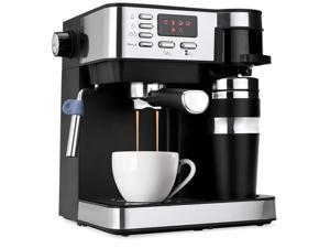 Best Choice Products 3-in-1 15-Bar Espresso, Coffee, and Cappuccino Maker Machine w/ Steam Frother, Thermoblock System