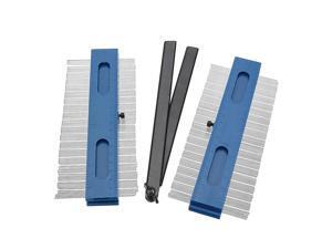 2 in 1 2x200mm Contours Gauge Profile Copy Gauge Duplicator Wood Marking Tool Tiling Laminate Tiles Tools
