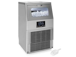 Best Choice Products 66lb/24hr Automatic Portable Stainless-Steel Ice Maker Machine w/ LCD Indicator, Ice Scoop