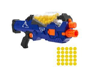 Best Choice Products Electric Motorized Soft Foam Ball Rapid Fire Blaster Toy w/ Hopper Feeder, 20 Balls