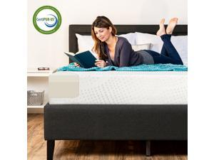 Best Choice Products 10in Full Size Dual Layered Memory Foam Mattress w/ CertiPUR-US Certified Foam