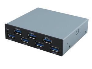 """Sedna 3.5"""" Internal 7-Port USB 3.0 Floppy Bay Hub"""