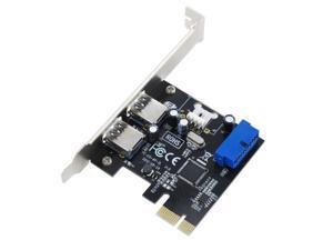 SEDNA - PCI Express USB 3.0 4 Port Adapter ( 2External + 2 Port Internal with 20 Pin connector )