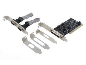SEDNA - PCI 2 Serial 1 Parallel Adapter Card ( MCS9865 chip set ) ( 3 Low Profile Bracket included )