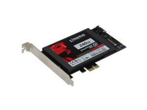 SEDNA PCI Express (PCIe) SATA III (6G) SSD Adapter with 1 SATA III Port ( with Built In Power Circuit , No Need SATA Power Connector ) - SSD not included