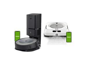 iRobot Roomba i3+ Wi-Fi Connected Robot Vacuum with Braava Jet m6 Robot Mop