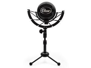 Blue Microphones Snowball iCE USB Microphone (Black) with Knox Gear Shock Mount