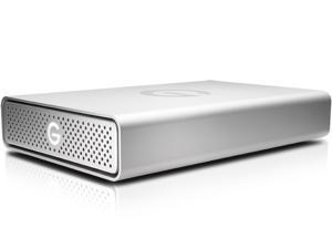 G-Technology G-DRIVE USB 4TB USB 3.0 Desktop External Hard Drive 0G03594 Silver