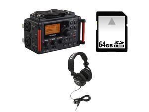 Tascam DR-60DmkII DSLR Audio Recorder + Accessory Kit