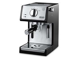 """De'Longhi ECP3420 15"""" Bar Pump Espresso and Cappuccino Machine, Black"""