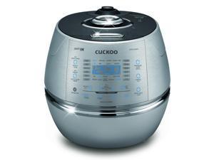 Cuckoo CRP-CHSS1009FN 10 Cup Pressure Rice Cooker, 110V, Metallic