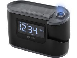 HoMedics Soundspa, Recharged-Projection Alarm Clock-8 relaxations sounds.