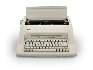 Royal 69147T Scriptor II Personal Portable Electronic Typewriter with 20 Character, 2 Line LCD Display