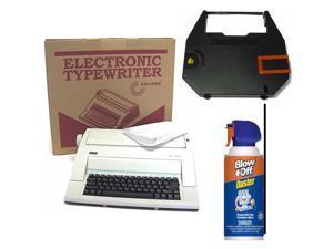 Nakajima WPT-150 Portable Electronic Typewriter with Correct Film Ribbon Bundle