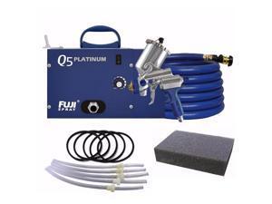 Fuji Q5 Platinum Quiet HVLP Spray System & Gravity Cup Parts with Q-Filter