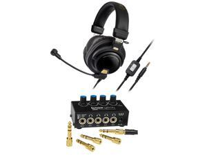 b1502e2c76a Audio-Technica Premium Gaming Headset with Knox Headphone Amplifier