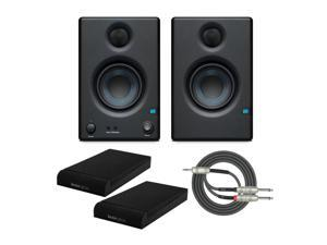 """Presonus 2-Way 3.5"""" Near Field Studio Monitors with Isolation Pads and Cable"""