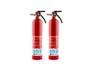 First Alert HOME1 ABC 2.5 Pound Rechargeable Fire Extinguisher-HOME (2 PACK)