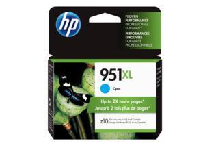 HP 951XL - High Yield - cyan - original - ink cartridge HP 951XL Ink Cartridge - Cyan - Inkjet - 1 Each - Retail
