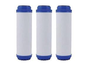 """Replacement RO Filter for Standard 10"""" GAC Filter (3-Pack) Replacement RO Filter"""