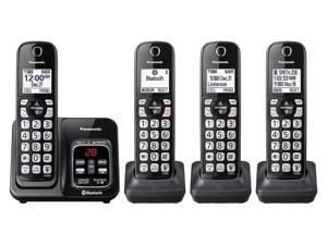 Panasonic KX-TG744SK1 Bluetooth Cordless Phone With Handset Link2Cell Bluetooth Cordless Telephone - 4 Handsets