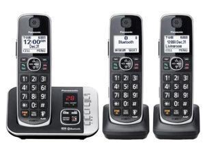 Panasonic KX-TGE633M DECT 6.0 Expandable 3-Handset Cordless Phone