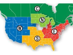 Navionics MSD/HMPT-W6 HotMaps Platinum Lake Maps - West Nautical Charts New