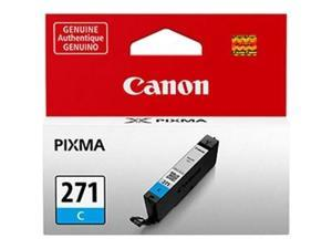 Canon 0391C001 Canon CLI-271C Ink Cartridge - Cyan - Inkjet - 311 Page