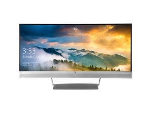"HP EliteDisplay S340c 34"" WQHD 3440x1440 21:9 LED-Backlit Curved Monitor"