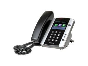 Polycom VVX 501 (2200-48500-001) VVX 501 12-line Business Media Phone with Power Supply
