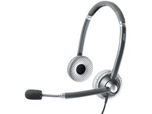 Jabra UC Voice 750 Duo Dark Microsoft Optimized Corded Headset w/ Noise Reduction System
