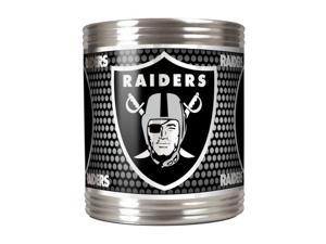 Great American Products Oakland Raiders Can Holder Stainless Steel Can Holder