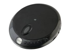 GPX GPXPC301BB GPX PC301B Portable CD Player with Stereo Earbuds and Anti-Skip Protection