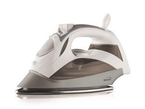 BRENTWOOD MPI-90W Power Steam Iron Stainless Wht