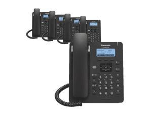 Panasonic KXHDV130B (5-Pack) KX-HDV130 Executive SIP Phone