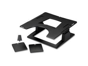 "3M LX500 3M Notebook Stand - 13.9"" Height x 9.1"" Width x 14.1"" Depth - Black"