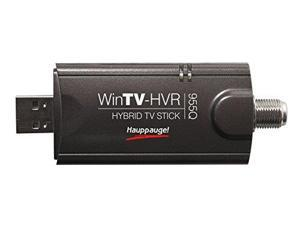 Hauppauge HAUP1191B Hauppauge 1191 WinTV-HVR-955Q TV Tuner Stick/Personal Video Recorder with Clear QAM and Remote Control Black