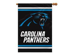 Fremont Die Inc Carolina Panthers 2-Sided House Banner House Banner