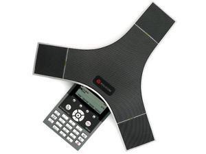 Polycom 2200-40000-001 w/ EX Mics SoundStation IP 7000 Conference Phone (POE) w/ 2 EX Mics