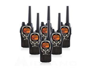 Midland GXT1000VP4, 50 Channel GMRS Two Way Radio (6 Pack)