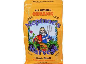 Neptune's Harvest Crab Shell Fertilizer - Orange Label - 4 Lb Garden