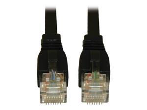 TRIPP LITE N261-003-BK 3 ft. Cat 6A Black Augmented Cat6 (Cat6a) Snagless 10G Certified Patch Cable, (RJ45 M/M) - Black