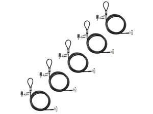 HP Nano Keyed Cable Lock 1AJ39UT (5-Pack) Nano Keyed Cable Lock