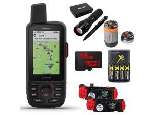 Garmin GPSMAP 66i GPS Handheld and Satellite Comm. Survival Kit Bundle - (010-02088-01)