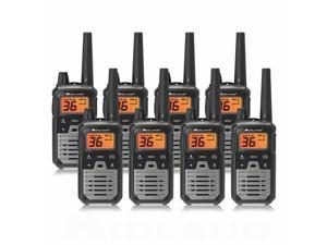 Midland X-Talker T290VP4 - Black (8 Radios) T290VP4 X-Talker Radio-Black