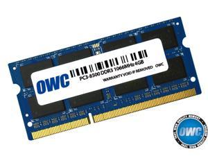 OWC 4.0GB DDR3 PC-8500 1066MHz  Memory Upgrade Module. Model OWC8566DDR3S4GB